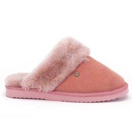 Warmbat Flurry Suède roze pantoffels dames