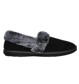 Skechers Cozy Campfire Team Toasty zwart pantoffels dames