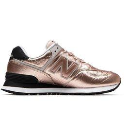 New Balance WL574WER roségoud sneakers dames