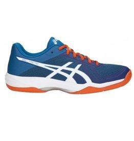 Asics Gel Tactic blauw oranje indoor schoenen heren