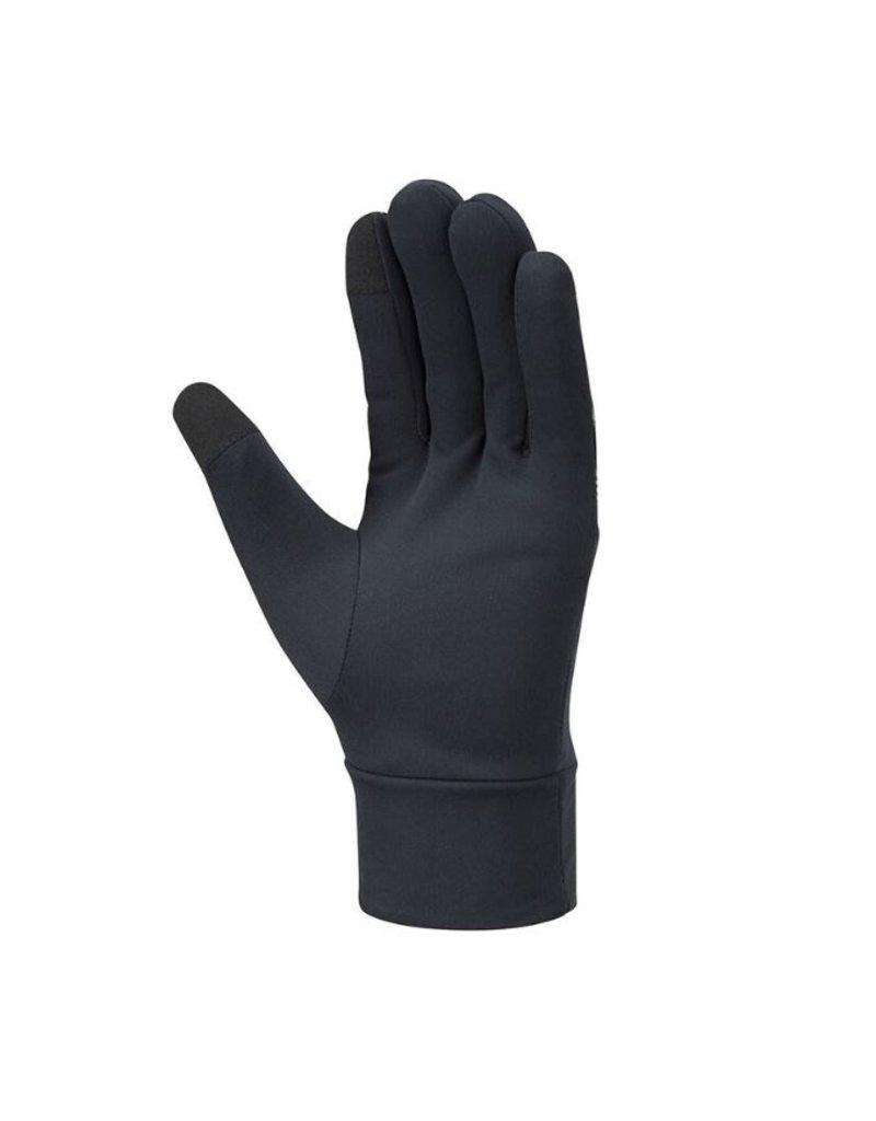 Mizuno Mizuno Windproof Glove hardloophandschoenen zwart grijs