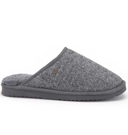 Warmbat Classic Herringbone grijs pantoffels heren