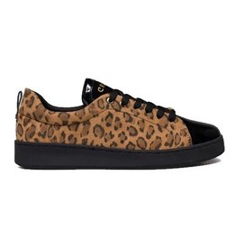 Cruyff Sylva beige luipaard sneakers dames