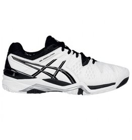ASICS Gel Resolution 6 wit zwart tennisschoenen heren
