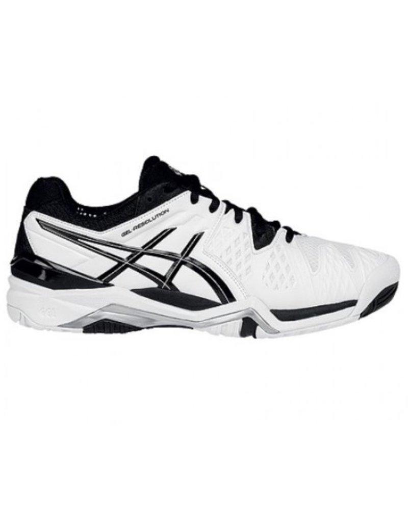 ASICS ASICS Gel Resolution 6 wit zwart tennisschoenen heren