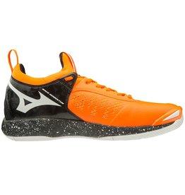 Mizuno Wave Momentum oranje zwart volleybalschoenen unisex
