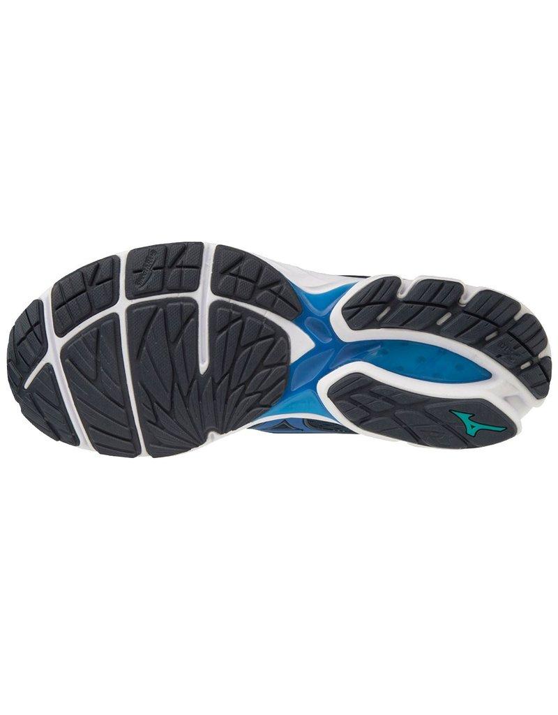 Mizuno Mizuno Wave Rider 23 zwart blauw hardloopschoenen heren