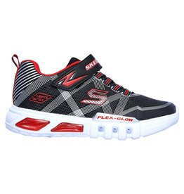 Skechers Flex-Glow grijs rood sneakers baby's