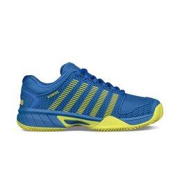 K-Swiss Hypercourt Express HB blauw tennisschoenen kids