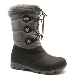 Olang Patty Antracite zwart grijs snowboots dames