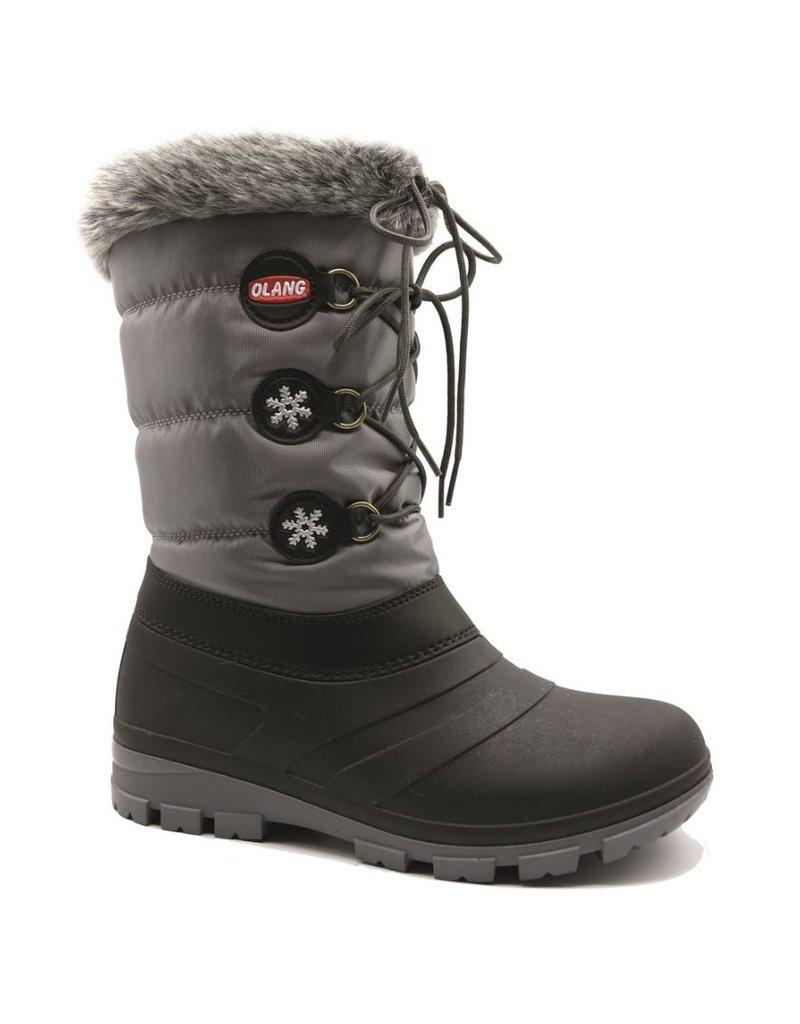 Olang Olang Patty Antracite zwart grijs snowboots dames