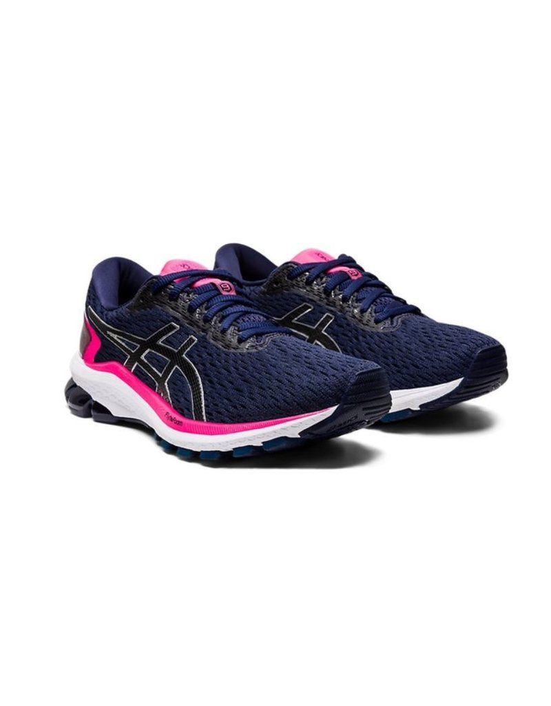 ASICS ASICS GT 1000 9 donkerblauw roze hardloopschoenen dames