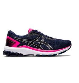 ASICS GT 1000 9 donkerblauw roze hardloopschoenen dames