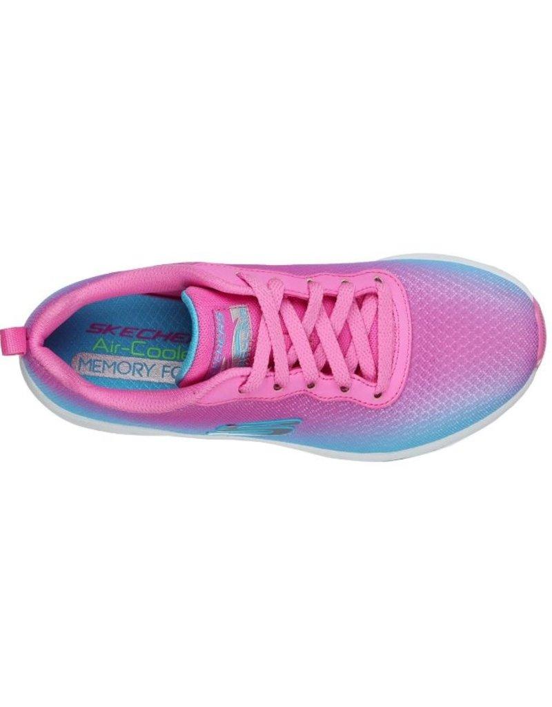 Skechers Skechers Skech-Air Element blauw roze sneakers meisjes