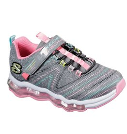 Skechers Skech-Air Wavelength grijs sneakers meisjes