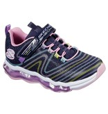Skechers Skechers Skech-Air Wavelength donkerblauw sneakers meisjes
