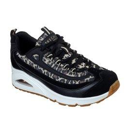 Skechers Uno Wild Streets zwart sneakers dames
