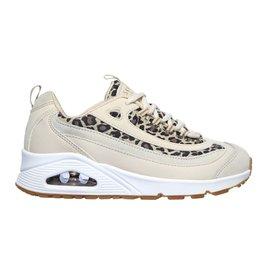 Skechers Uno Wild Streets beige sneakers dames