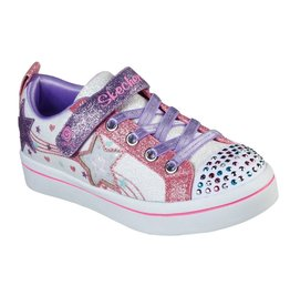 Skechers Twi-Lites 2.0 Star Bright wit sneakers meisjes