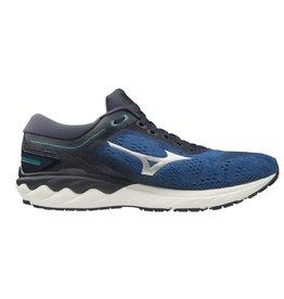 Mizuno Wave Skyrise blauw hardloopschoenen heren