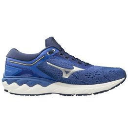 Mizuno Wave Skyrise blauw hardloopschoenen dames
