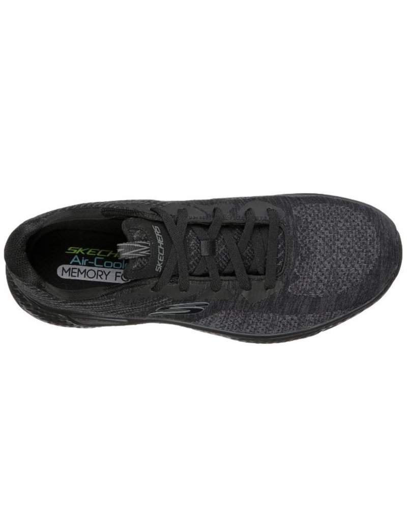 Skechers Skechers Solar Fuse Kryzik zwart sneakers heren