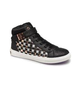 Skechers Shoutouts Glitz zwart sneakers meisjes