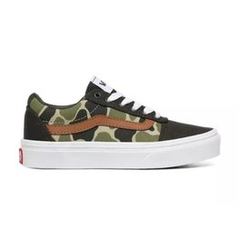 Vans YT ward forest groen sneakers kids