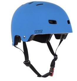Bullet Deluxe Helmet junior mat blauw veiligheidshelm kids