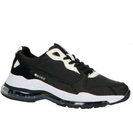 Björn Borg X500 BLK W 0910 zwart sneakers dames