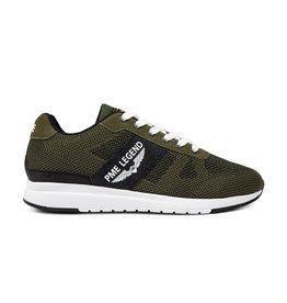 PME Legend Dornierer groen zwart sneakers heren
