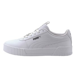Puma Carina bold  wit sneakers dames