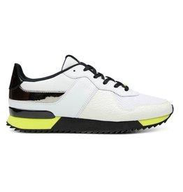 Cruyff Cosmo wit geel sneakers heren