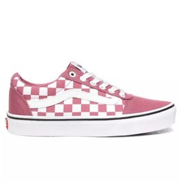 Vans WM Ward roze wit sneakers dames