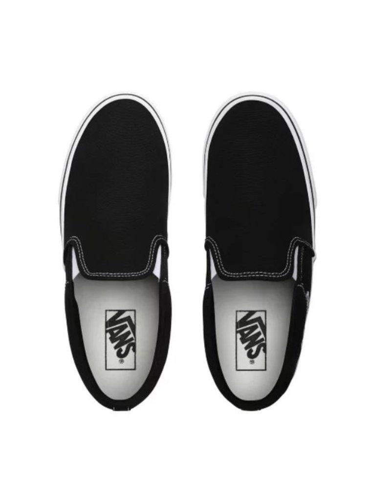 Vans Vans MN Asher zwart wit sneakers heren