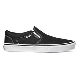 Vans MN Asher zwart wit sneakers heren