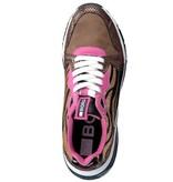 Björn Borg Björn borg  X500 PON LEO W 2056 bruin roze sneakers dames