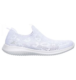 Skechers Ultra Flex Fast Talker wit sneakers dames