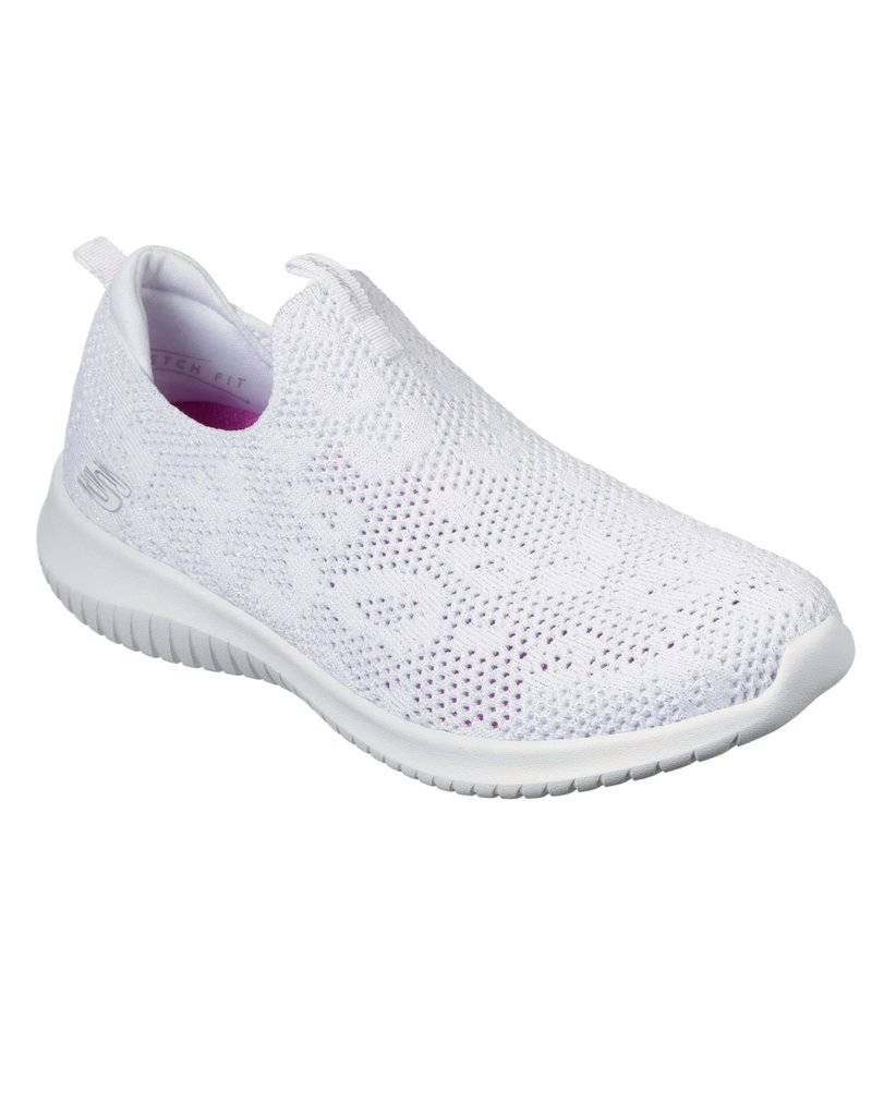 Skechers Skechers Ultra Flex Fast Talker wit sneakers dames