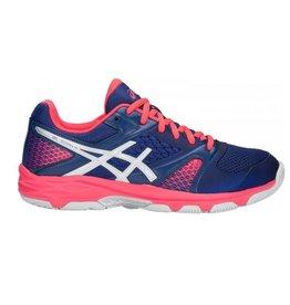 ASICS Gel Domain 4 blauw roze handbalschoenen dames