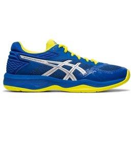 ASICS Gel Netburner Ballistic FF blauw geel volleybalschoenen heren