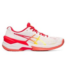 ASICS Sky Elite FF wit rood volleybalschoenen dames