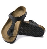Birkenstock Birkenstock Gizeh Leopard zwart slippers dames