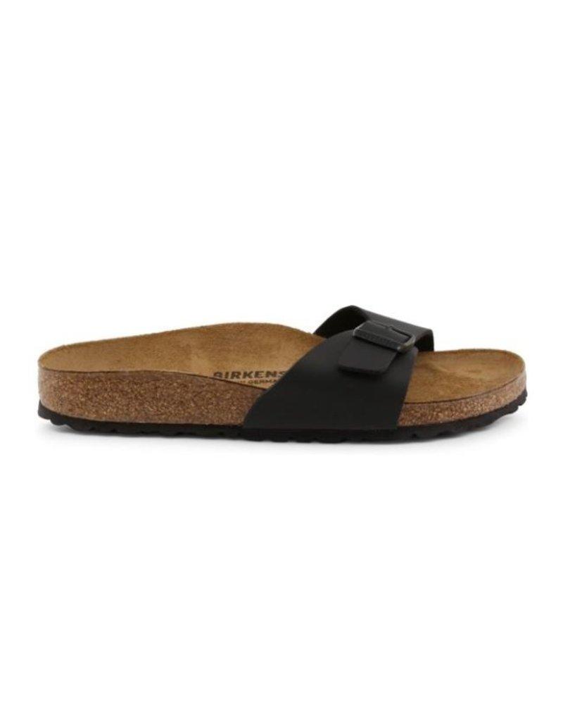 Birkenstock Birkenstock Madrid zwart mat narrow sandalen dames