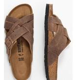 Birkenstock BirkenstockLugano cambrella tabacco sandalen heren