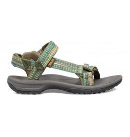Teva Terra Fi Lite Burnt groen sandalen dames
