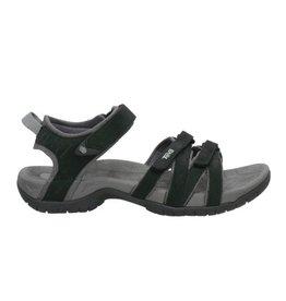 Teva Tirra  leather zwart sandalen dames