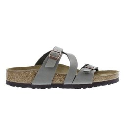 Birkenstock Salina Strappy narrow grijs slippers dames
