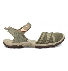 Teva Tirra CT burnt groen sandalen dames