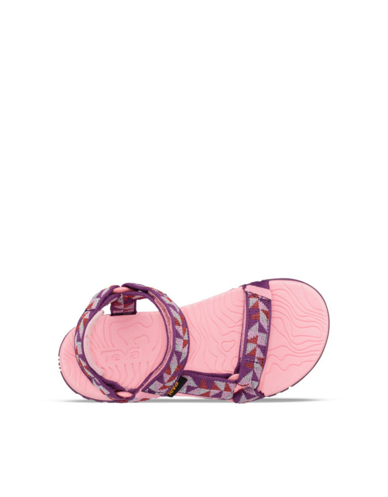 Teva Teva Hurricane 3 Ciment Squares roze sandalen meisjes (maat 28 35)